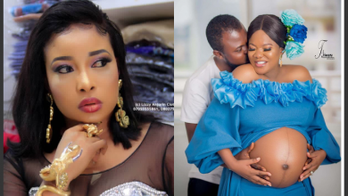 Photo of Toyin Abraham reacts as Lizzy Anjorin lists reasons for not congratulating her