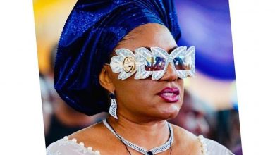 Photo of Nigerians react as Anambra First Lady steps out in Gucci sunglass worth N991,800 (Photos)