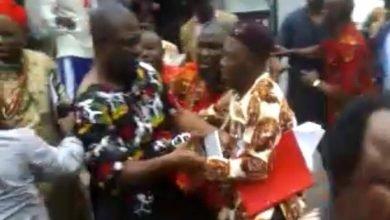 Photo of IPOB members attack former Deputy Senate president, Ike Ekweremadu in Germany, read why!