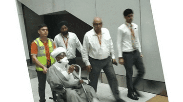 Photo of Shiites leader, El-Zakzaky, complains about Indian hospital, wants to return to Nigeria