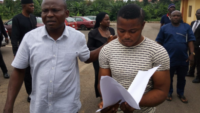 Photo of Soldier who raped Ondo undergraduate finally gets court jugdment (photos)