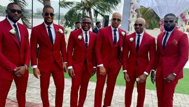 Photo of Glam Squad! Angela Okorie, Ik Ogbonna, other celebrities step out in style for Temidayo's wedding