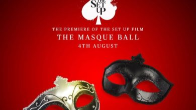 Photo of The Set-up's Masque Ball Themed Movie Premiere: One Night. One Look. Three Features For A Stylist/Designer