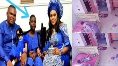 Photo of See what Nigerian Househelp  was caught doing to 2-Year-Old Boy On CCTV