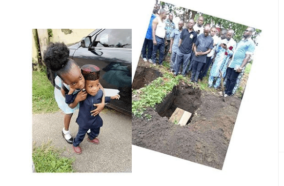 The family member of Abia State Oil Producing Area Development Commissioner, Hon. Adiele Ekeke, has been thrown in deep mourning after he lost his wife and two children.