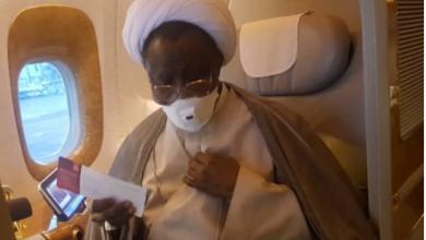Photo of El-Zakzaky on his way back to Nigeria – IMN Spokesman reveals