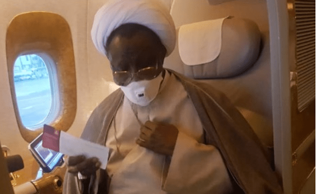 Image result for images of El-Zakzaky Is On His Way Back To Nigeria – IN Spokesman Reveals