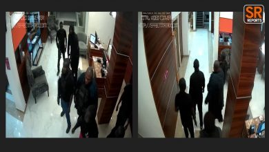 Photo of Video of moment DSS operatives stormed Sowore's house to arrest him