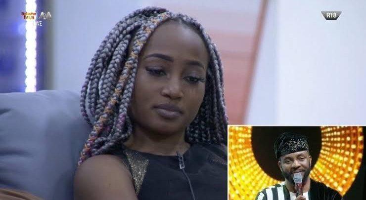 Frodd breaks down in tears as Esther leaves BBNaija house