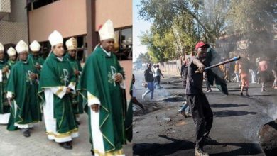 Photo of Xenophobia: South Africa Catholic bishops counter government