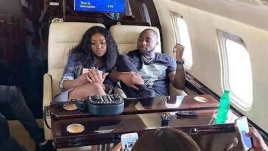 Photo of Davido spends the night on hospital bed with Chioma and son (photos, video)