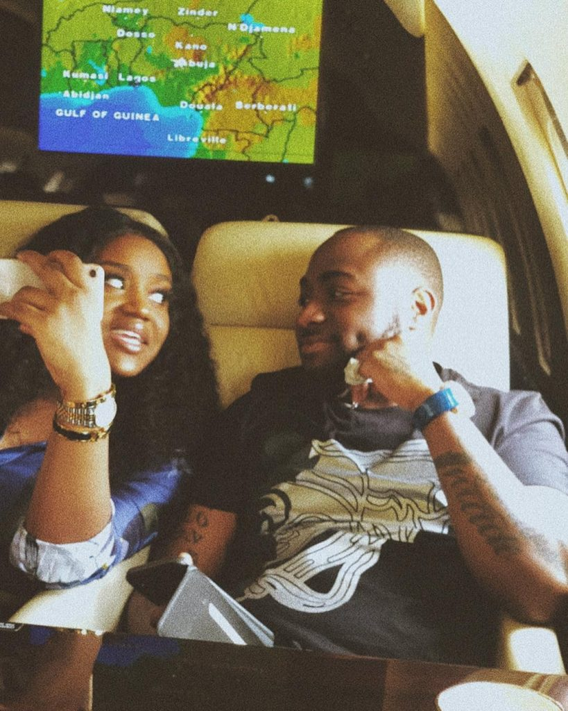 Davido's girl, Chioma speaks on giving birth to a boy