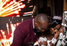Photo of Anita and ife's Gatsby themed wedding ceremony (photos)