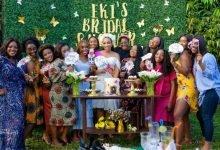 Photo of Eki's garden themed bridal shower is a must see