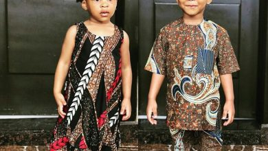 Photo of Nigeria at 59: Tonto Dikeh, Psquare, others dress up for their kids for National cultural day (photos)