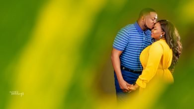Photo of Modupe and Babatunde's love story and prewedding photos will melt your heart