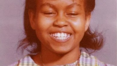 Photo of Michelle Obama sends empowering message as she shares picture from early school days