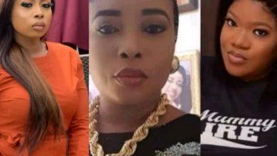 Photo of Toyin Abraham vs Lizzy Anjorin: Alaafin of Oyo's wife reacts