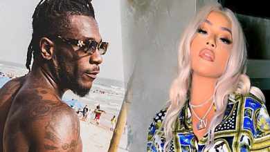 Photo of Burna Boy and Stefflon Don all loved up at a night club (video)