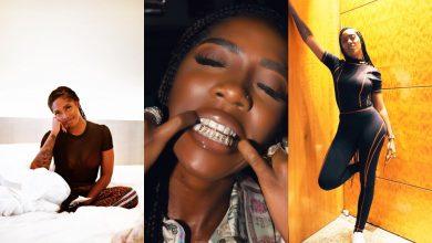 Photo of Tiwa Savage customizes her teeth (photo)