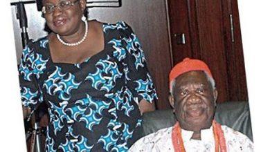 Photo of Okonjo-Iweala loses dad at age 91