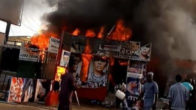 Photo of Man set ablaze for shooting dead his wife who built a house and bought a car for him