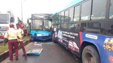 Photo of Okada riders cause BRT collision in Lagos