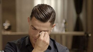 Photo of Ronaldo sheds tears on seeing video of his late father