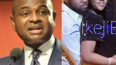 Photo of Kingsley Moghalu shades Nigerians as he congratulates Davido and Chioma