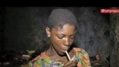 Photo of New photos of Lizzy, the drug junkie transformed by pastor Tony Rapu