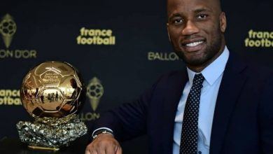 Photo of Former Chelsea player, Didier Drogba gets Ballon d'Or title