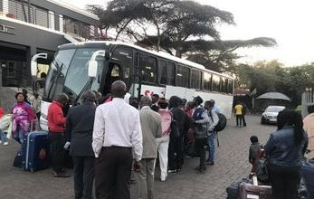Photo of Xenophobia: 320 Nigerians spotted heading to the airport for flight back to Nigeria