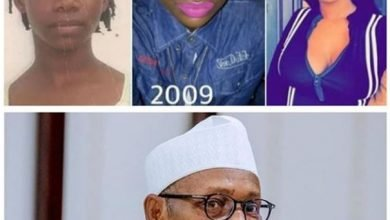 Photo of Reno Omokri states the similar between Tacha's complexion and Buhari's integrity