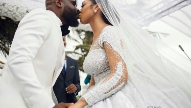 Photo of First photos and videos from Temidayo Kafaru's wedding