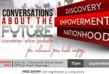"""Photo of #UnwontedConvos – Get Ready To Attend """"The Millennial Town Hall Meeting"""""""