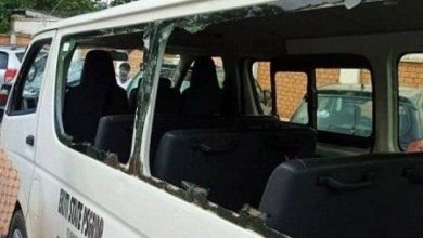 Photo of FUOYE Shut As Students Attack Fayemi's Convoy, Injure Policemen