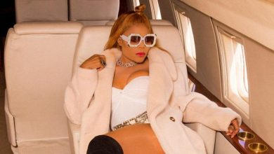 Photo of Singer Ashley Stephanie flaunts her new private jet for 'Tomber' (Photos)