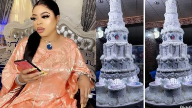 Photo of Tonto Dikeh begs Bobrisky to donate his birthday cakes to 'About to wed' couples, he reacts