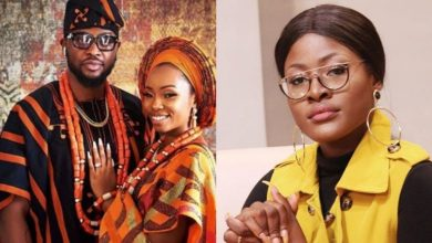 Photo of After long hours of wait, Alex Unusual finally reacts to #BamTeddy's wedding (Photos)