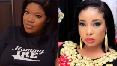 Photo of Another war in Nollywood! Toyin Abraham to sue Lizzy Anjorin for Cyber bullying