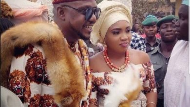 Photo of Ken Eric's wife reveals he is homosexual…never touched her before, during, after their wedding!