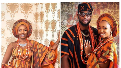 Photo of The two outfits Bambam wore at her traditional wedding to Teddy A