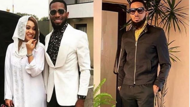 Photo of D'Banj Welcomes Baby Boy With Wife In The US