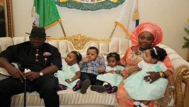 Photo of Governor's wife recounts how she waited for 15 years before having her quadruplets