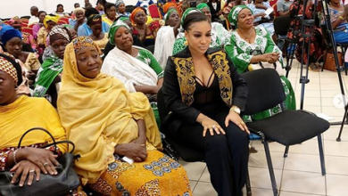 Photo of The moment Tonto Dikeh threw off her shoes after arriving at a wrong event