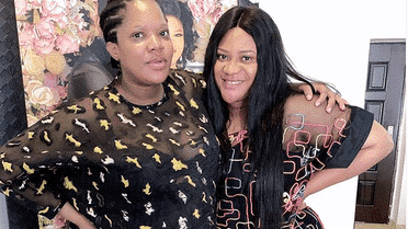 Photo of Toyin Abraham's best friend, Nkechi Blessing makes mother shed tears of joy on birthday (photos, video)