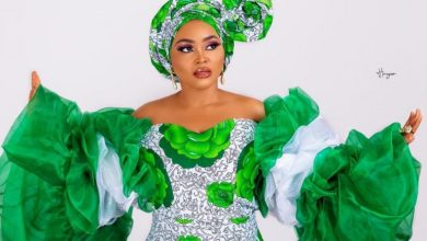 Photo of How Mercy Aigbe and other citizens celebrated Nigeria's 59th independence (Photos)