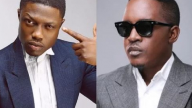 Photo of Beef:  MI Abaga shreds Vector and fans are loving it