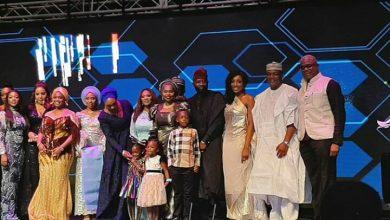 Photo of Hajiya Bola Shagaya holds Lagos version for 60th birthday after Abuja shut down (photos)