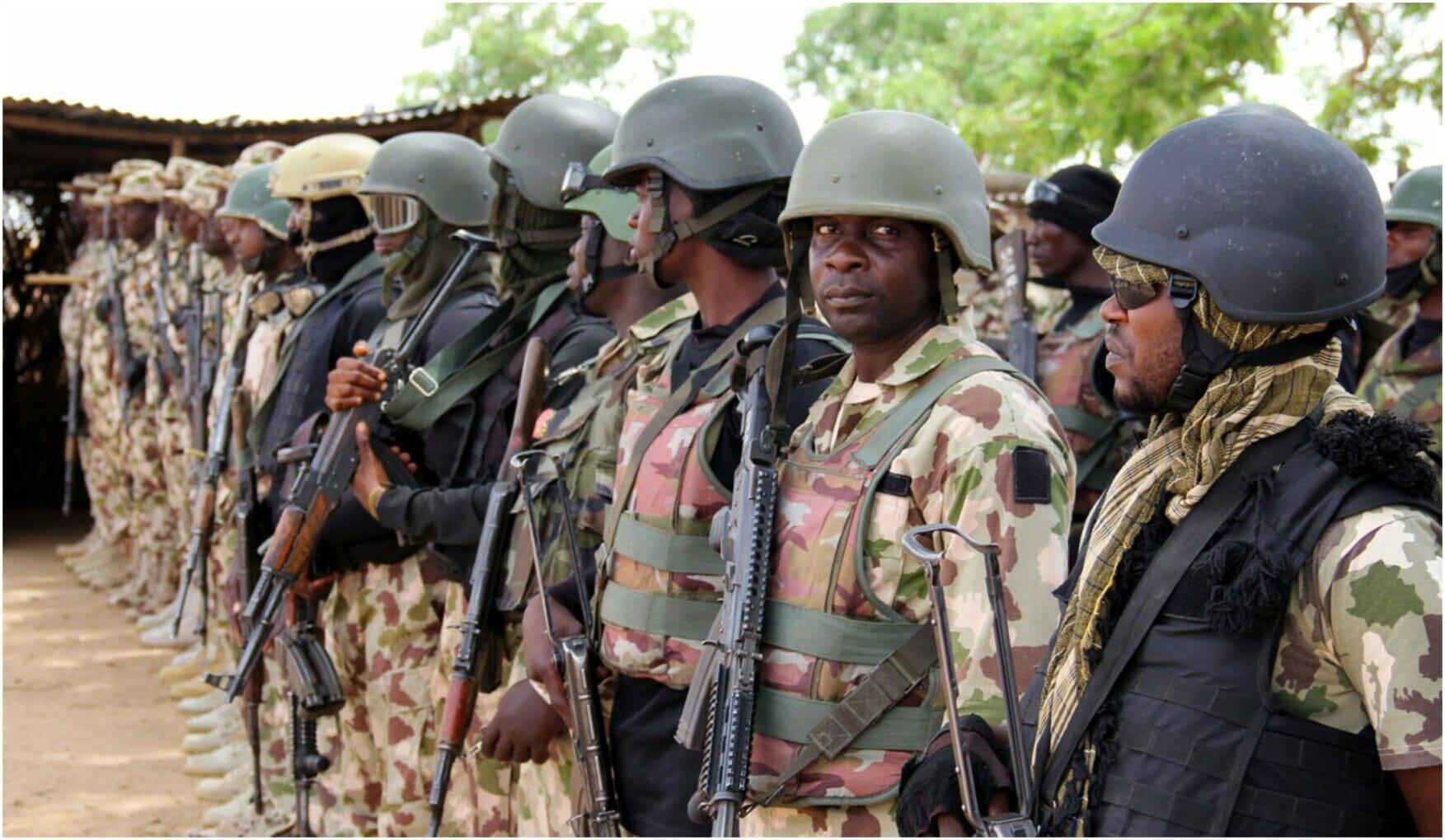 Nigerian soldier battle with Boko Haram